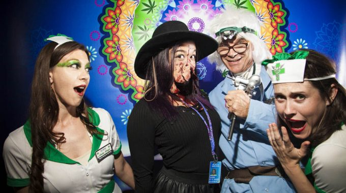 Medamints Photo Booth At Budtender Night, Denver 10/29/16