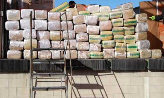 Mexican Forces Seize 5 Tons Of Marijuana From Basement Near Texas Border