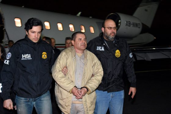 """'It's Totally Political': Mexican Drug Kingpin """"El Chapo"""" To Appear In US Courtroom"""