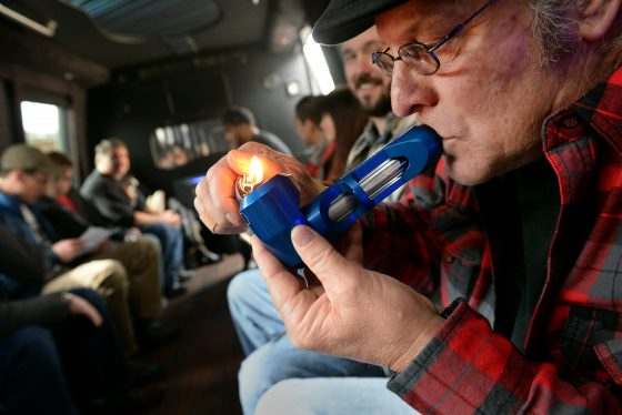 """Denver Crackdown On Marijuana Tour Buses Heads To Court While City Task Force Says """"legalize It."""""""
