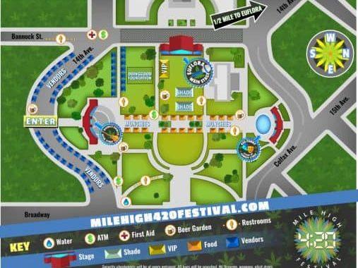 Denver's New Mile High 420 Festival Announces All-star Lineup