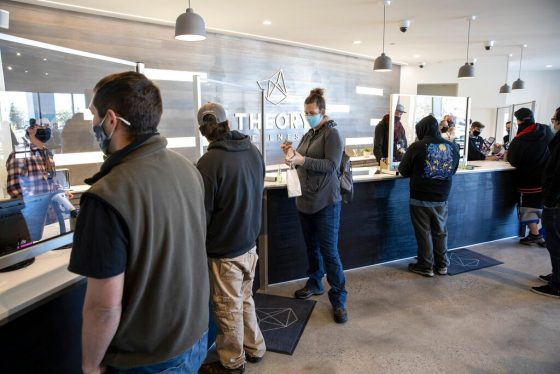 Maine Joins Massachusetts, Opening Doors To Recreational Pot Sales