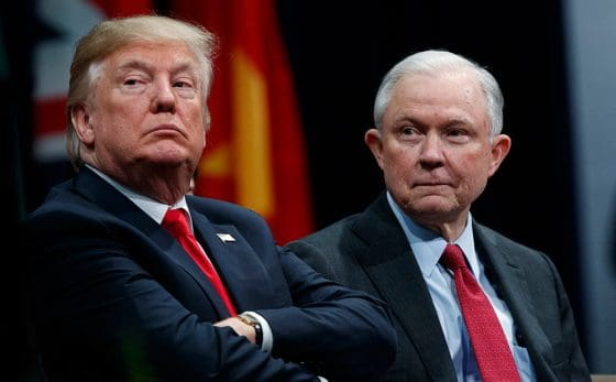 Trump Is Backing Off The Marijuana Fight. Jeff Sessions Has Not.